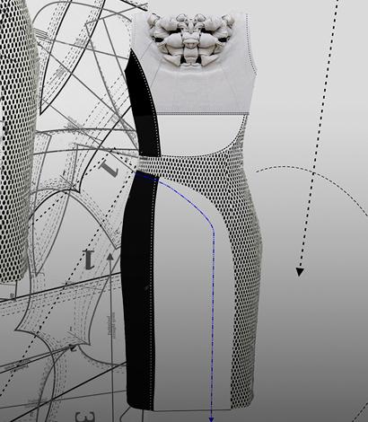 Moldería de Vestidos Experimental – Diseñá a través de la moldería.