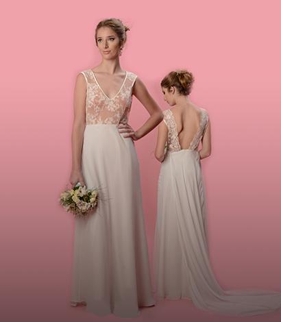 Diseño y moldería de vestidos de novias